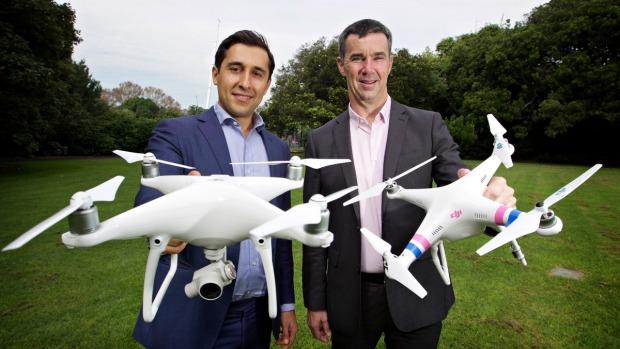 DroneShield 兩名創辦人明言主要對付的無人機是 DJI Phantom。