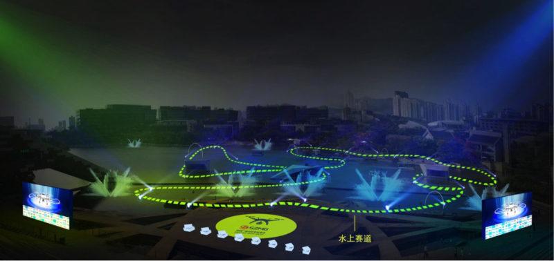 D1亞洲盃決賽在深圳歡樂海岸舉行,賽道將建於水上。