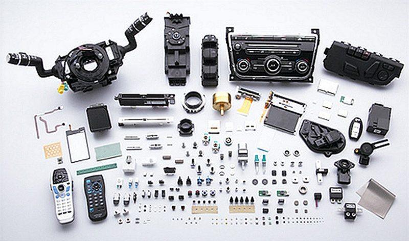 Alps Electric 擅長製造各式感應器、可調電阻、連接器、手機液晶顯示、觸控面板、無線通信模組等。