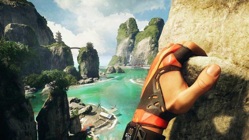 Crytek 的攀岩遊戲《The Climb》,讓用戶感受有如置身於聳山峻嶺的攀登體驗。