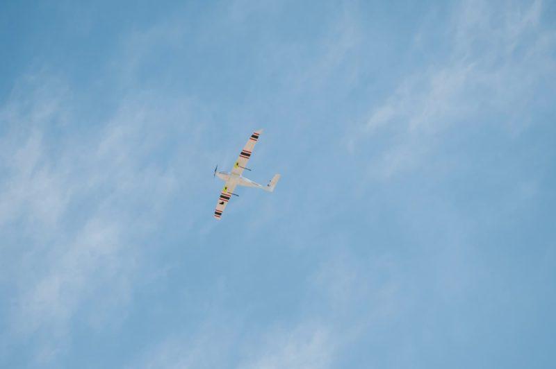 無人機 Seeder 在 400 呎高空試飛,並未進入雲層。