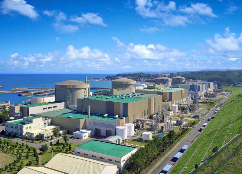 韓國核設施被列為禁飛區。圖為月城核電站。