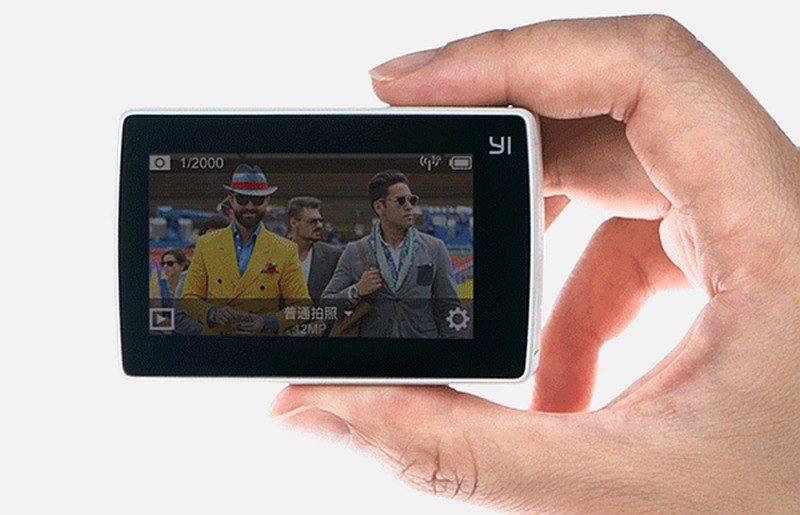 小蟻 4K 運動相機機背加入 2.19 吋輕觸式屏幕,