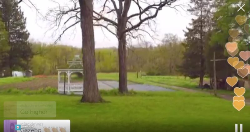 無人機玩家可通過《Periscope》直播空拍圖傳畫面,即時與觀眾互動。