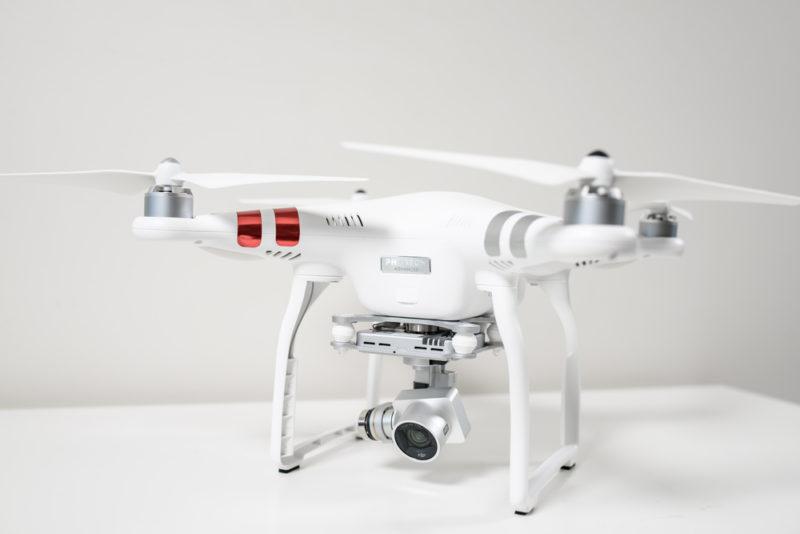 涉事的空拍機為跟圖中的 DJI Phantom 3 Advanced 為相同型號。