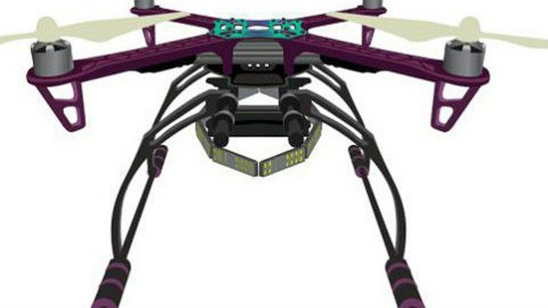 Arbe Robotics 會在無人機上裝設小型 24GHz FMCW 傳感器,形成 360 度環迴掃瞄雷達。