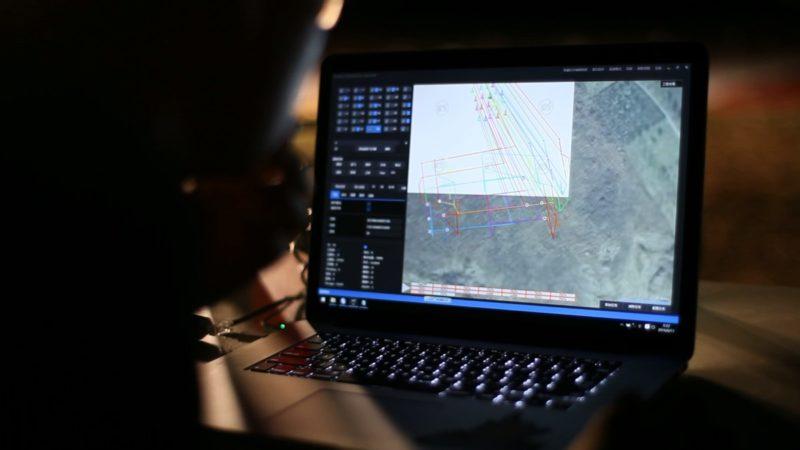 億航 GhostDrone 2.0 光影表演:地面基站