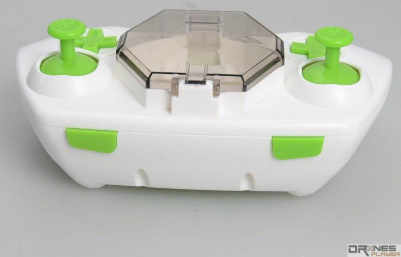 Fayee FY805 遙控器頂部設有獨立功能鍵。