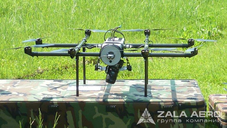 AK-47 廠商 Kalashnikov 旗下的 Zala 421-22 八軸無人機
