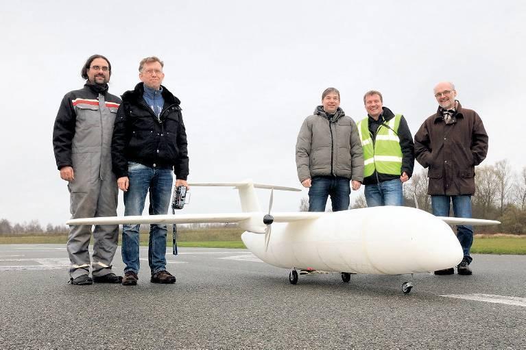 空巴在德國航空展上展示 3D 列印無人機 Thor。