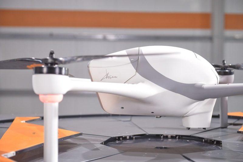 無人機 Optimus 最高續航力達 30 分鐘。
