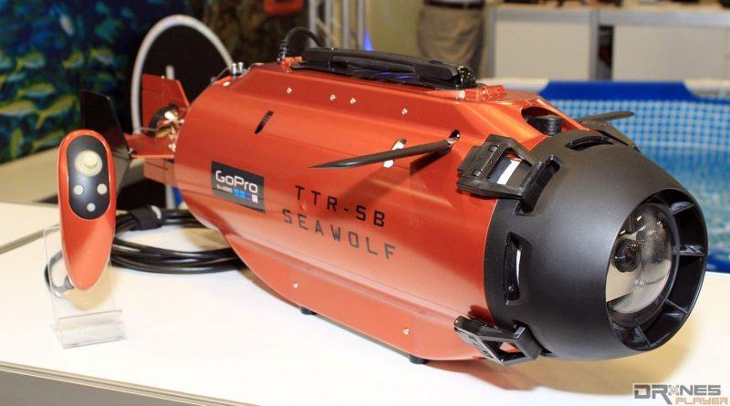 Seawolf 系列具有多個版本,圖中為使用搖桿式遙控器操作的 Deepsea Challenger。