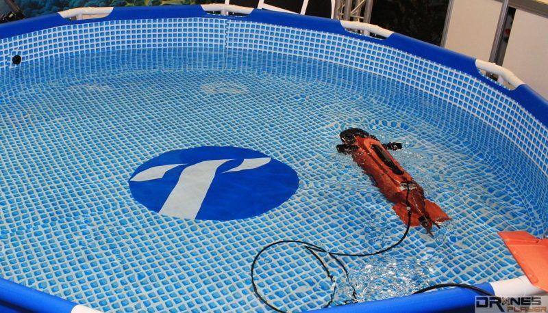 Seawolf Ocean Master 水中無人機可通過線控方式進行遙控。