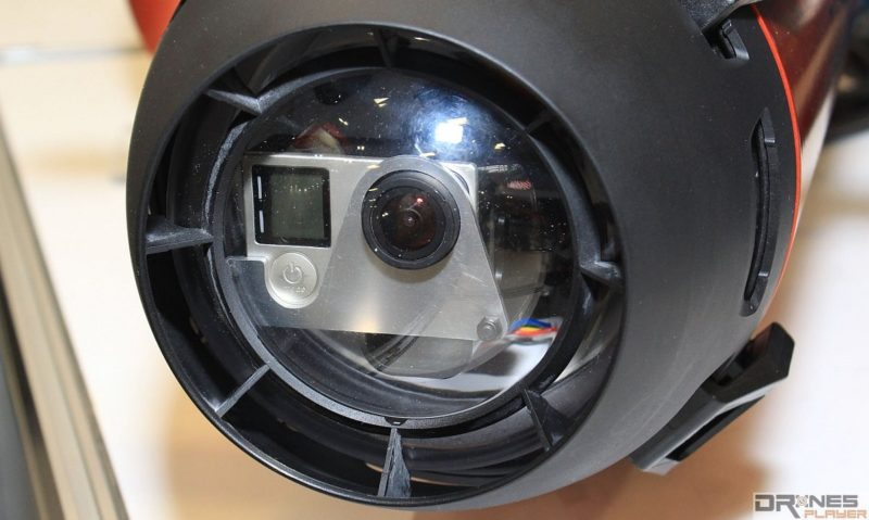 Seawolf Ocean Master 無人機機首可安裝 GoPro 運動相機,可下潛至水深 60 米。