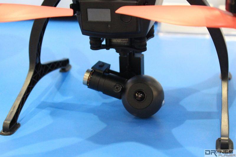 GhostDrone 2.0 旗艦版已自帶 4K 球形航拍相機。