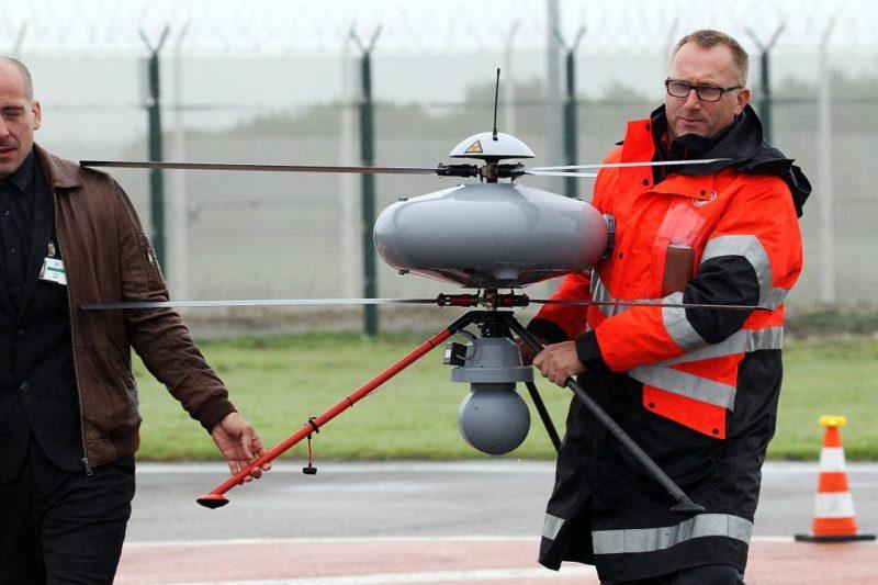 IT180 空拍機體形龐大,軍事或民間監察用途都適用。