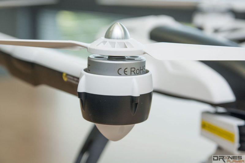 每次放飛空拍機後,應檢查槳翼會否出現崩口、裂痕,以免影響飛行的穩定性。