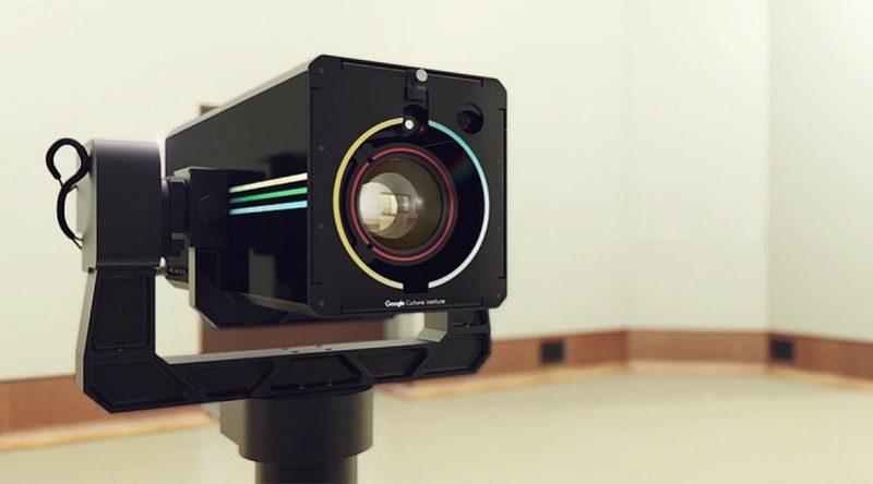 Google Art Camera 為非賣品,只會借給藝術館或博物館作記錄藝術品之用。