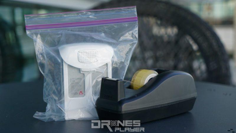 DJI Phantom 4 電池臨時包裝