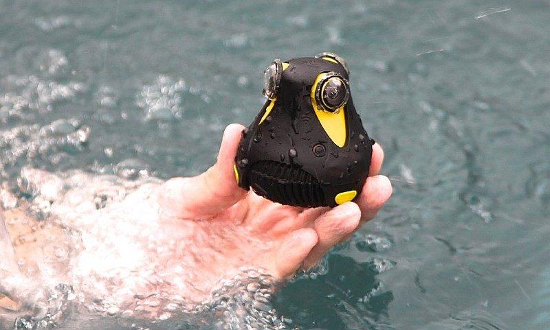 如想平玩 360 度直播,大家可選擇小巧兼防水的 Giroptic 360cam,只要 499 美元就有交易。