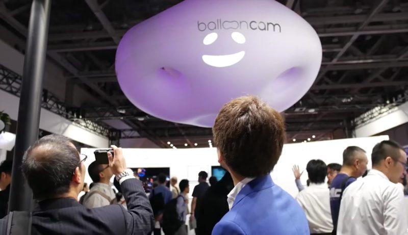 Panasonic Ballooncam 在 Content Tokyo 2016 展出
