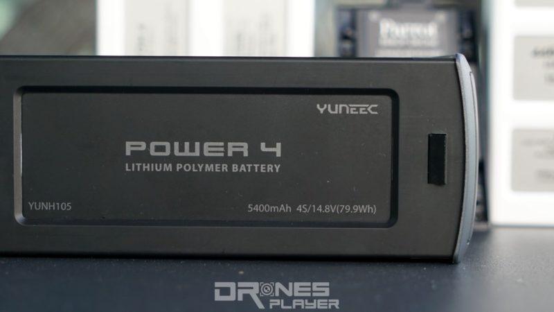 Yuneec Typhoon H 電池標示