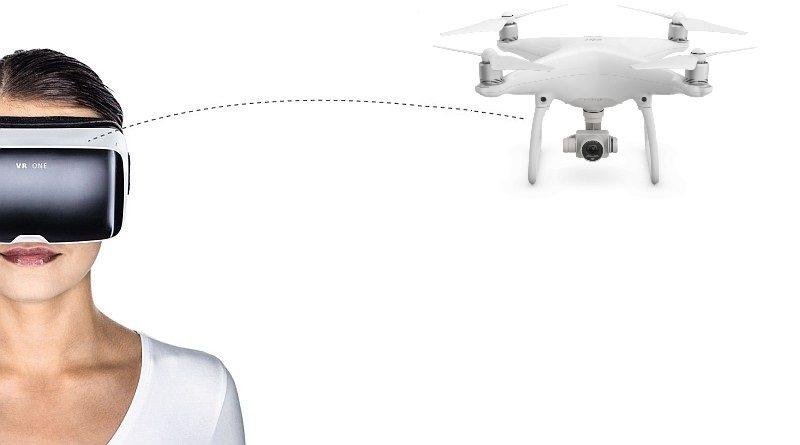 Zeiss VR One Plus 讓你搖頭控制 DJI Phantom 4