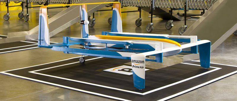 亞馬遜表示,已在英國、美國、奧地利和以色列設置室內的無人機測試設施。