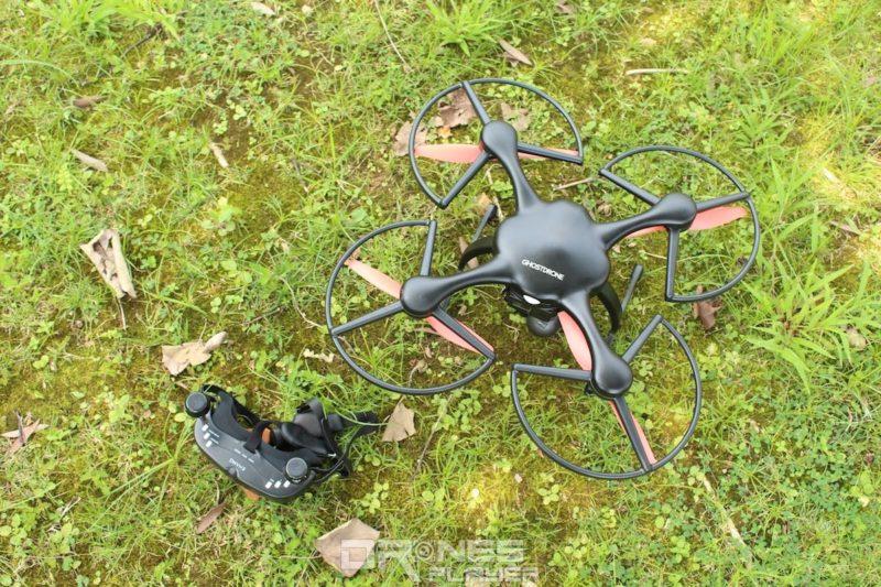 Ghost Drone 2.0 採用 VR 技術和體感操控航拍。