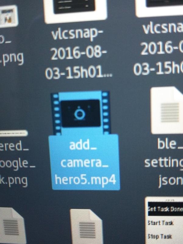 Konrad Iturbe 聲稱這是原始檔案的圖示,檔案名稱是「add_camera_hero5.mp4」。