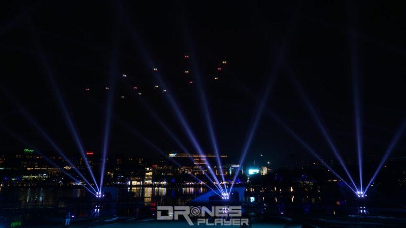 D1 無人機亞洲盃:無人機光影表演