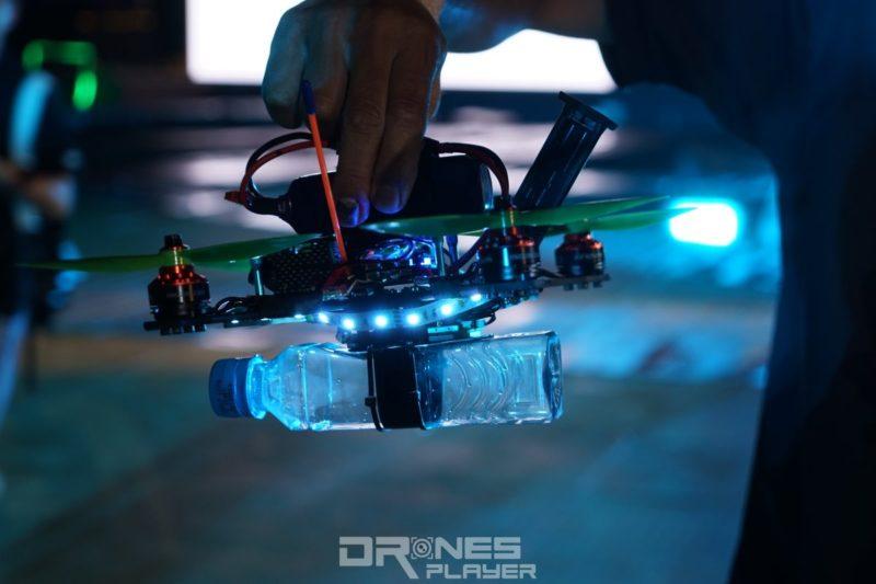 D1 無人機亞洲盃:無人機的臨時浮水裝置