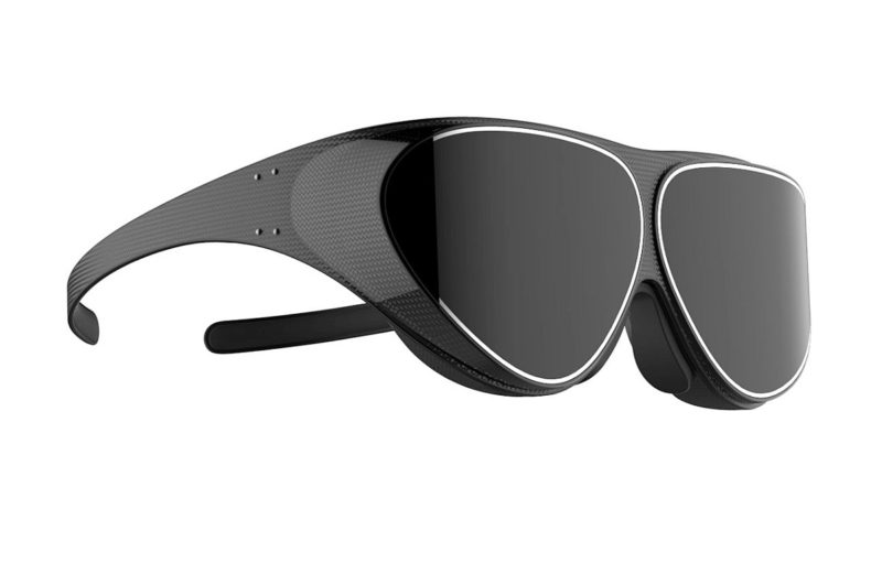 Dlodlo V1 的外形設計擺脫以往的笨重感,跟一副普通的墨鏡分別不大。