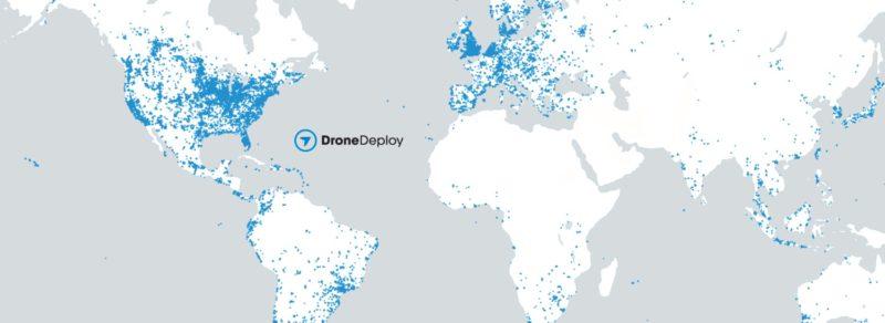 DroneDeploy 用戶測量範圍分布(2016 年 8 月)