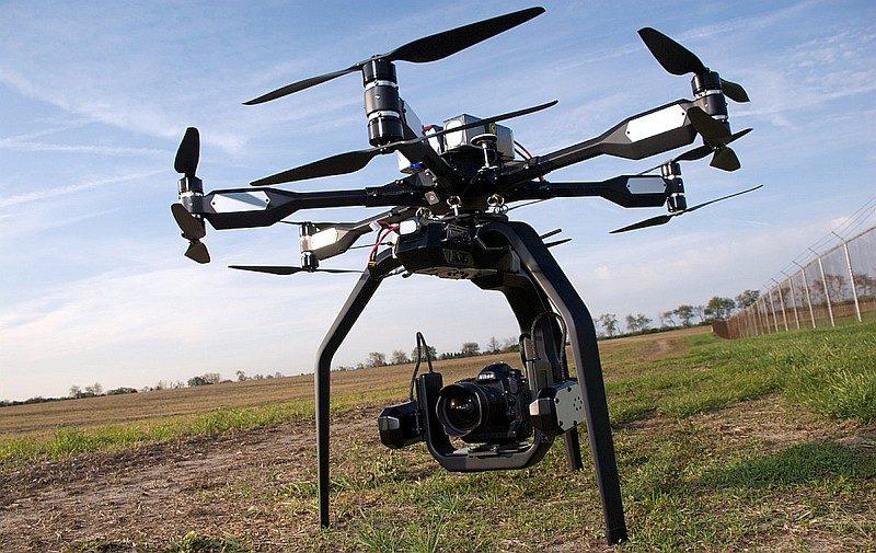 近年 Nikon 單眼相機已開始被應用於航拍方案上。