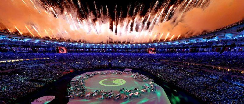 巴西 奧運 開幕 無人機