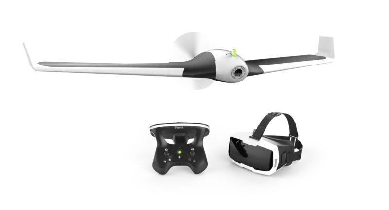 Parrot Disco 搭配 Cockpitglasses 與 Skycontroller 2 綑綁發售,定價 9,999 港元。