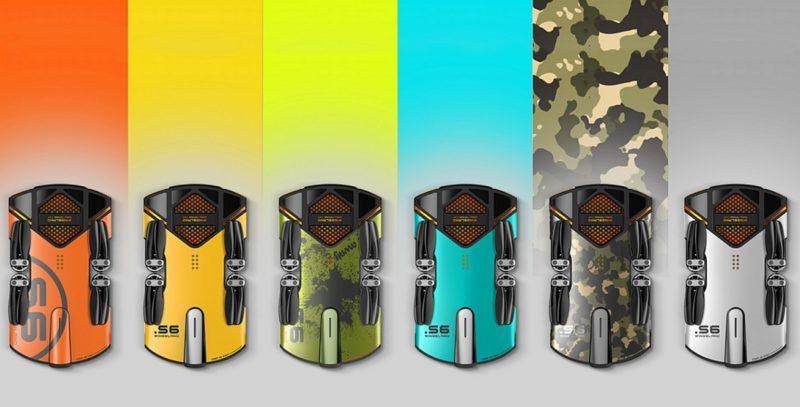 Wingsland S6 備有迷彩、殭屍綠、金屬銀、青春黃、曼塔橙、湖水藍等 6 色版本,未知閣下會喜歡哪一款顏色呢?