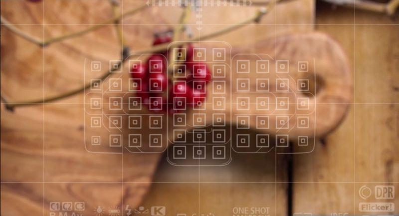 Canon EOS 5D Mark IV 採用 61 點對焦系統,其中 41 點為十字形對焦點。