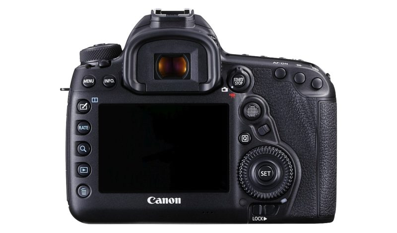 Canon EOS 5D Mark IV 機背屏幕可支援 Touch AF 及 Touch Shutter。