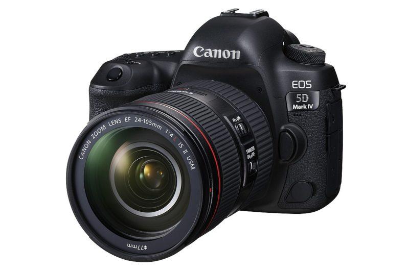 Canon EOS 5D Mark IV 搭配 EF 24-105mm F4L IS II USM 的套裝定價為 32,680 港元。
