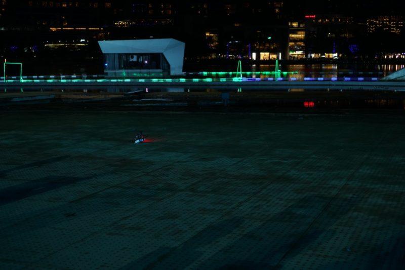 D1 無人機亞洲盃:墜機