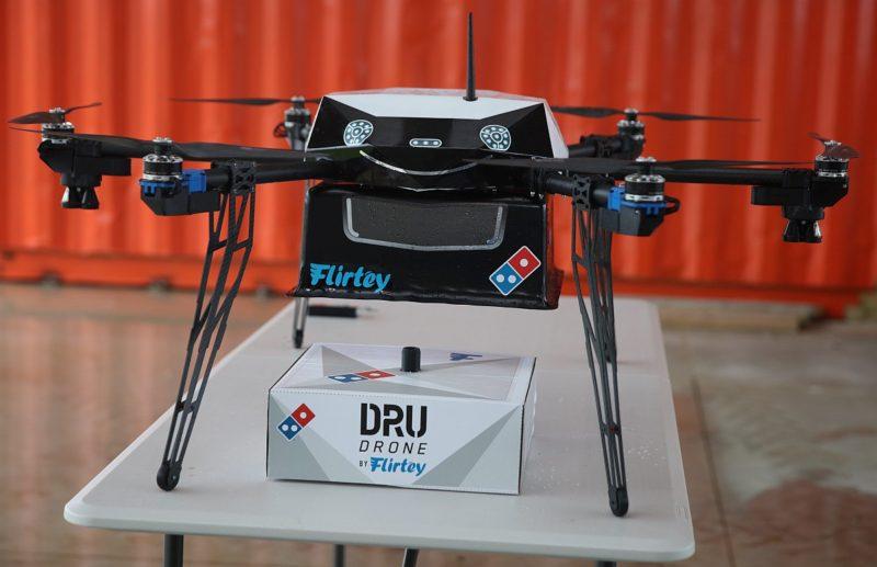 Domino's Pizza 無人機採用 6 旋翼飛行器設計-DronesPlayer.com