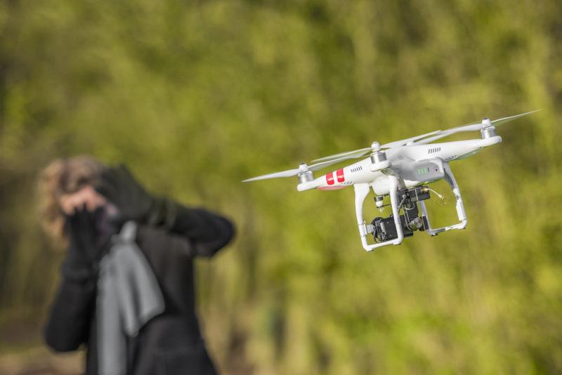 無人機引起不少人的私隱憂慮。