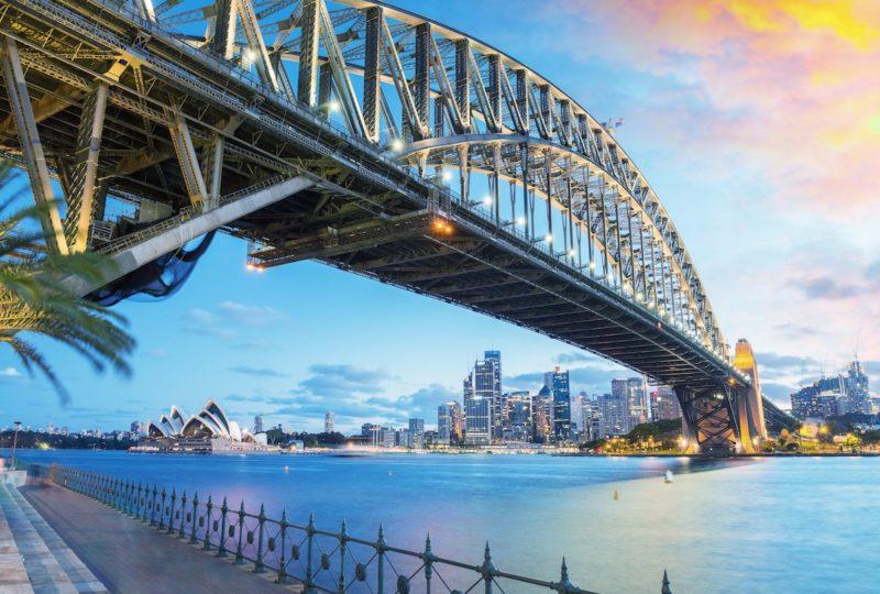 悉尼港大橋是澳洲著名地標。(資料圖片,圖片來源:ShutterStock)