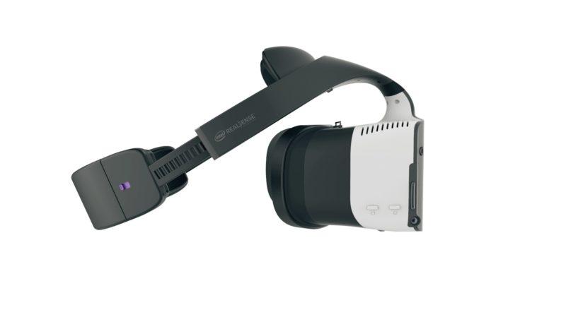 Project Alloy 眼鏡的外觀設計頗為輕巧,還內置中央處理器、圖像處理器等集成硬體,因此無需連接電腦使用。