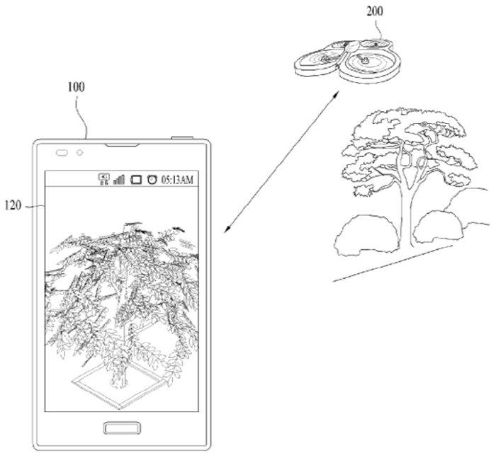 當打開手機內的 app, 啟動無人機鏡頭,便可遙控拍攝照片或影片。