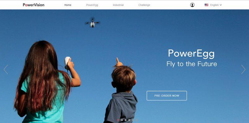 PowerVision 官方網站仍有「Pro-Order Now(現在預訂)」按鍵,但其實按進去只會跳回原來頁面。