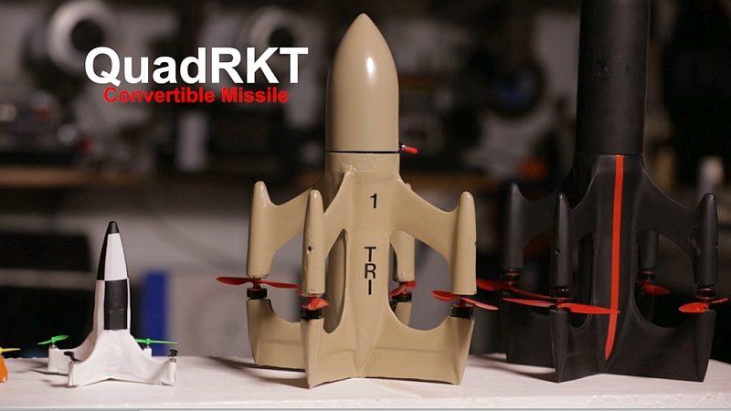 QuadRKT 原型機 XQ-139 的模樣。