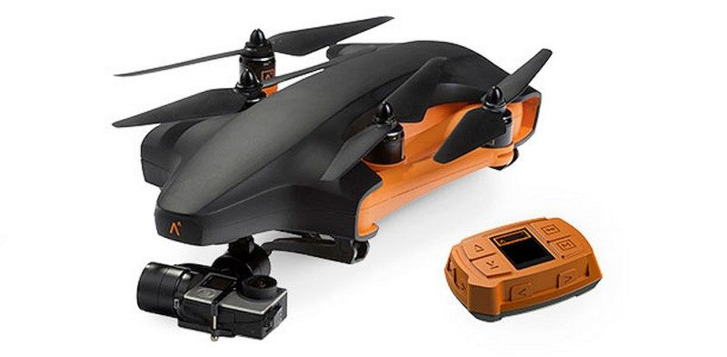 Staaker 飛行相機的軸臂可折疊收起,方便收藏和攜帶。
